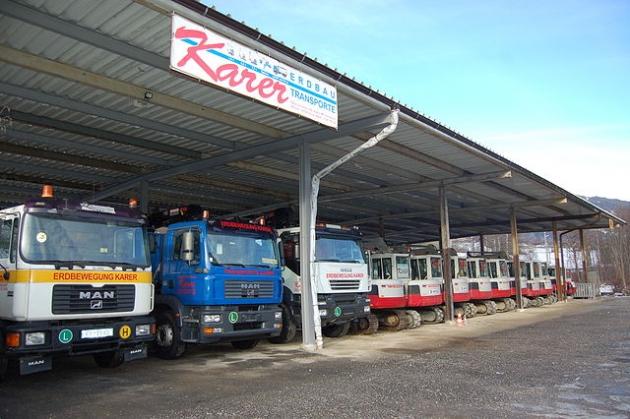 Erdbau und Transporte Fa. Karer